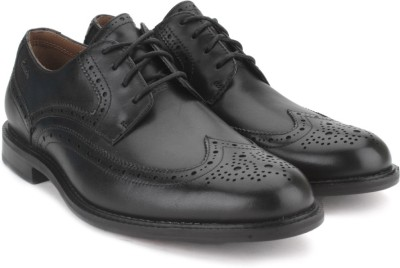 Clarks Dorset Limit Black Men Genuine Leather Formal shoes