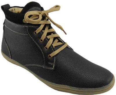 B3trendz Black Casual Shoe Sneakers