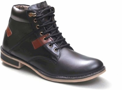 Big Wing Must Have Black Ankle Length Boots