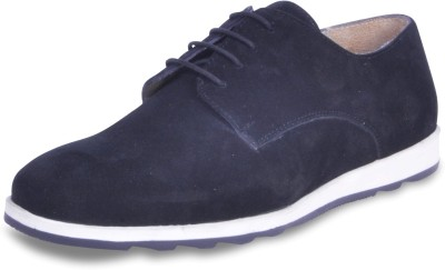 Harper Woods Black Suede lace up Casual Shoes