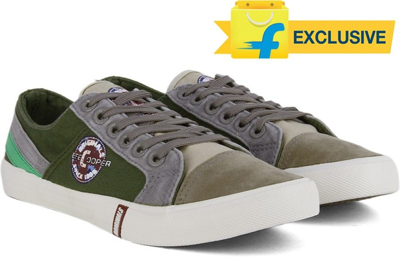 Lee Cooper Men Canvas Sneakers(G...