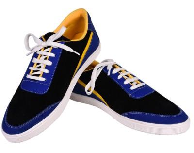Felando 604-Blue-7 Canvas Shoes