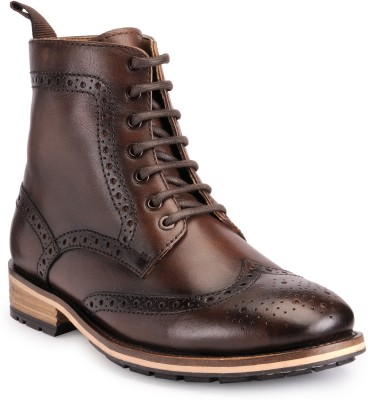 Teakwood Boots(Brown)