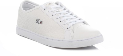 Lacoste Womens White Showcourt RCT Trainers Casual Shoes