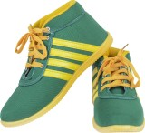 Earton Green-121 Sneakers (Green)