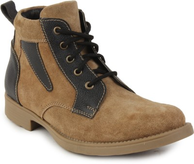 Metrogue Men,S Mid Ankle Suede Leather Boots