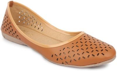 Sindhi Footwear Comfortable Bellies(Beige)