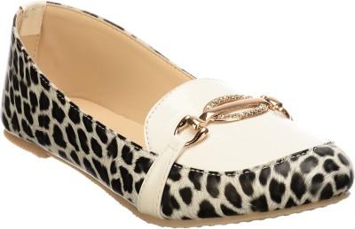 Calliebrown Callie brown trendy stylish leopardskin black ballerinas Bellies