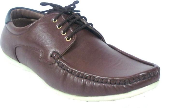 Gato Gato Biker Brown Boots Casual Shoes