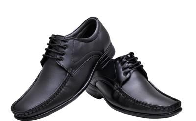 Azzaro Black Bruno Lace Up Shoes