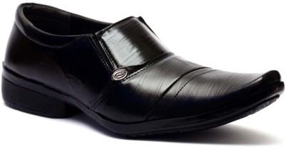 Vogue Guys Mica Black Formal Slip On Shoes