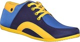 Ajay Footwear Casual Shoes (Yellow)