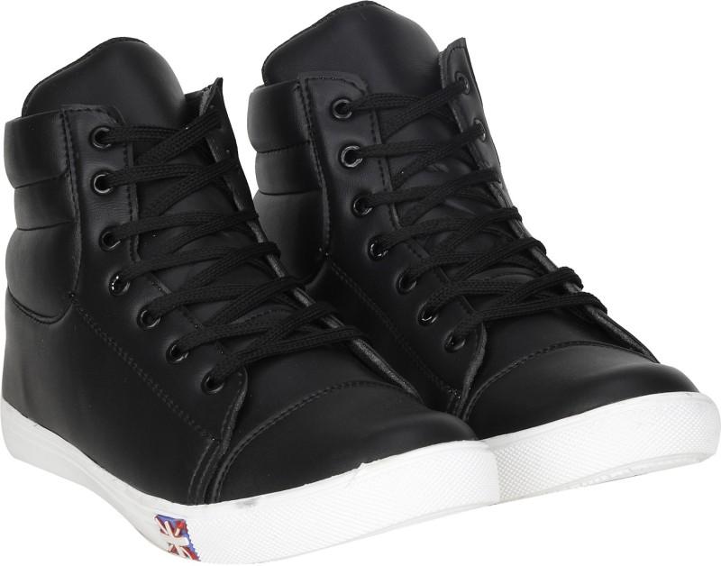Kraasa Rocking Sneakers, Boots, Dancing Shoes(Black)