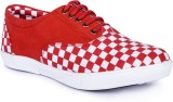 Wood Climber Canvas Shoes (Red)