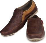 Do Bhai Loafers (Brown)