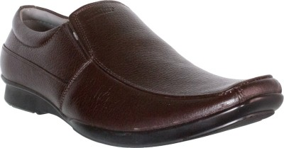 Cognisol Italian Brown Slip On Shoes
