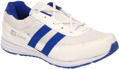Hispeed Hsdrunner Wht Rblu Running Shoes