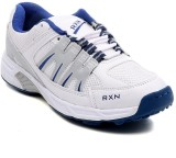 RXN Centurian Cricket Shoes (White, Blue...