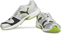 Puma Neptune Men Running Shoes(Green, Silver)