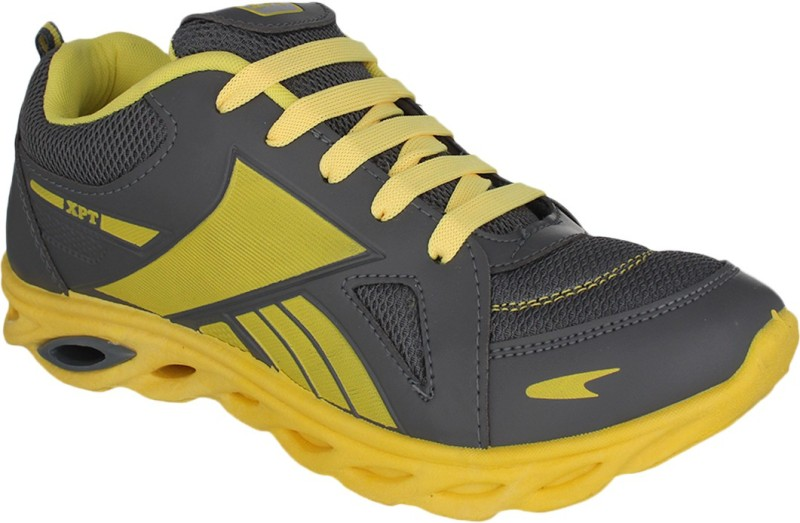 Xpert Running ShoesGrey Yellow