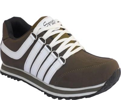 Mr. Chief khakhi sport shoe Running Shoes