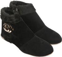 Cute Feet Boots(Black)