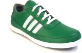 Ferraiolo Canvas Shoes (Green)
