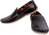 Royal Poinciana Loafers (Black)