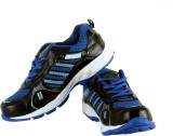 Trendfull Walking Shoes (Black, Blue)