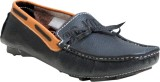 Oora Black Loafers (Black)