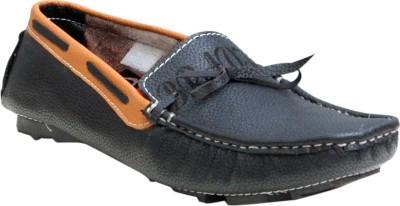 Oora Black Loafers