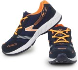 Acto Orange & Blue Men Running Shoes Run...