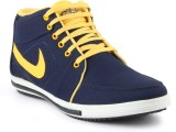 APF Styling Blue Yellow Shoes Casuals Sh...