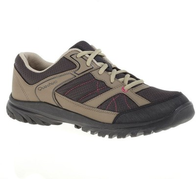 Quechua Arpenaz 50 Hiking & Trekking Shoes(Beige, Black)