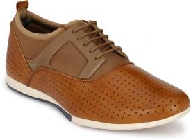 Footlodge Crofton Comfortable Shoe Casuals(Tan)