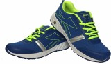 Hitway Running Shoes (Blue, Green)