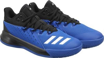 Adidas STREET JAM 3 Basketball Shoes(Black) at flipkart
