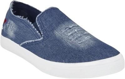 Kuangda Blue Denim Canvas Shoes