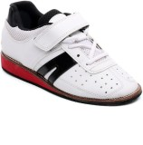 RXN White Walking Shoes (White)