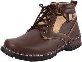 Chamois derby Boots (Brown)