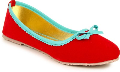 Lovely Chick Lovely Chick RED Women Casual Ballerinas A18-RED Bellies