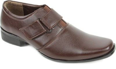 Griffon 851-4006-Brown Slip On Shoes