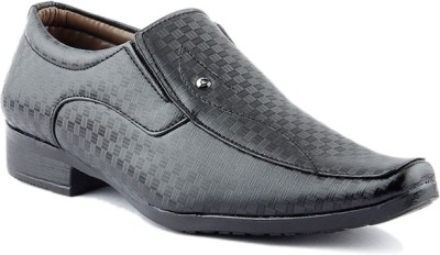 Kohinoor Black Party Wear Shoes