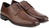 Van Heusen Leather Lace Up shoes (Brown)