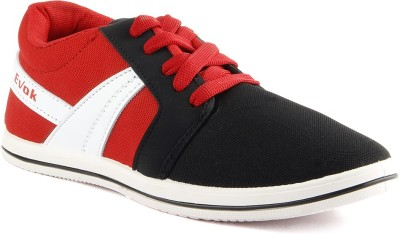 Big Wing Black Casual Shoes