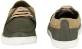 Jacs Shoes Casuals Shoes (Olive)