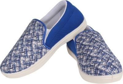 Earton Blue-370 Loafers