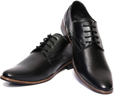 Adler Men's Black Formal Lace Up Shoes