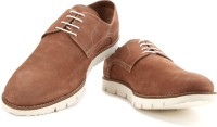 Louis Philippe Men Sneakers(Brown)