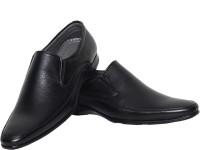 Azzaro Black Kies Slip On Shoes